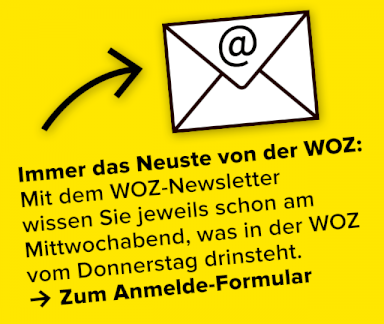 WOZ Newsletter abonnieren